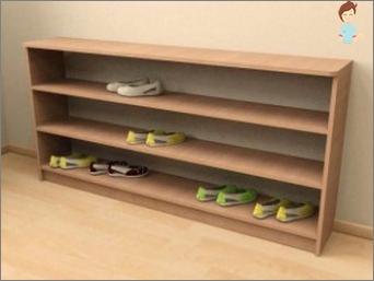 رف للأحذية - افعل نفسك