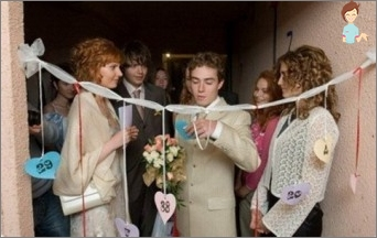 Nicht-schöne Wettbewerbe für die Hochzeit und Erlösung der Braut