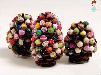 Unique crafts from cones