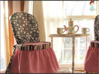 Fashionable apparel for furniture: chairs on the chairs do it yourself