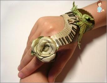 Wie kann man mit deinen eigenen Händen Dekorationen von der Haut herstellen?