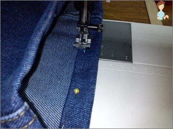 How to sew jeans?