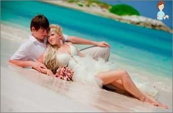 فساتين الشاطئ لحفل زفاف