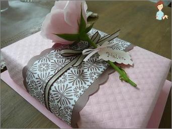 Schön ein Geschenk eingeben