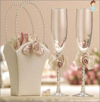 Gläser für Jungvermählten