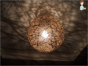 Ball of threads - Funny decoration for home