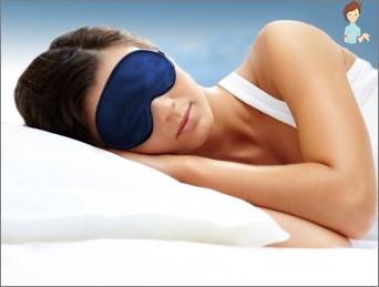 Sleep mask for a full rest