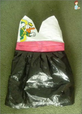 Dress do it yourself from plastic bags