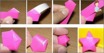 Wie kann man einen Massenstern aus Papier machen?