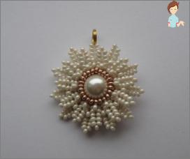 Meisterschaft Kamille von Perlen mit deinen eigenen Händen