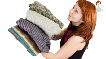 Warme Kleider: Stricken Sie sich