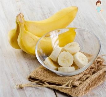 تليين قناع الموز