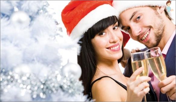 Neujahrsferien zusammen ohne Streitigkeiten und Beleidigung