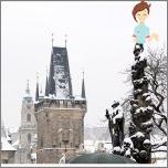 Wir feiern das neue Jahr in der magischen und mysteriösen Prag