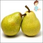 Nützliche Früchte während der Schwangerschaft - Birne