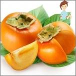 Nützliche Früchte während der Schwangerschaft - Persimon