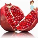 Nützliche Früchte während der Schwangerschaft - Granate