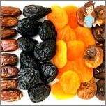 Nützliche Früchte während der Schwangerschaft - getrocknete Früchte