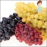 Schädliche Früchte während der Schwangerschaft - Trauben