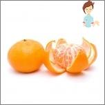 Schädliche Früchte während der Schwangerschaft - Mandarin