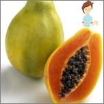 Schädliche Früchte während der Schwangerschaft - Papaya