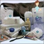 Was Sie mit Ihnen im Krankenhaus mitnehmen - sammeln Sie einen alarmierenden Koffer